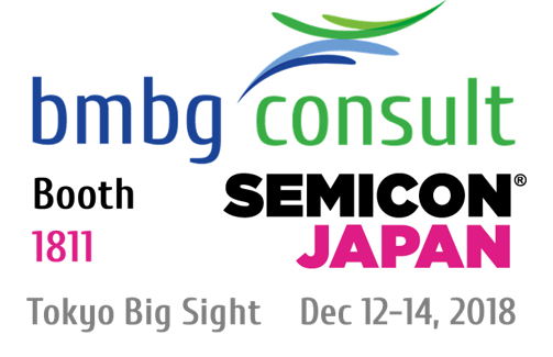 bmbg consult auch in 2018 wieder auf der SEMICON Japan in Tokyo Big Sight